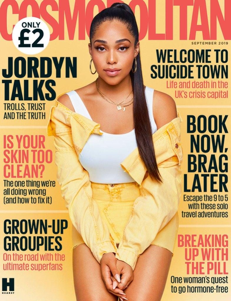 Jordyn Woods Cosmo Cover