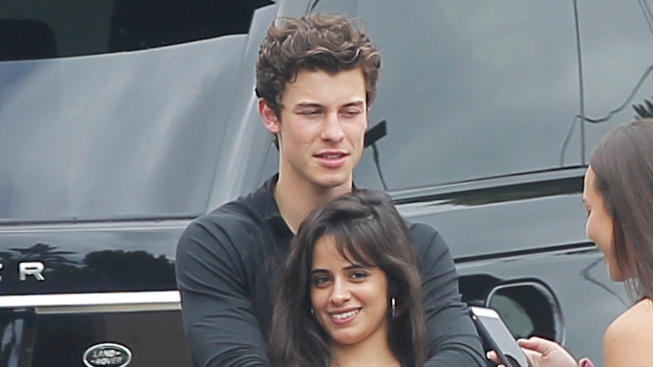Shawn Mendes Showing some PDA With Camila Cabello in LA