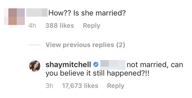Shay Mitchell Pregnant Not Married