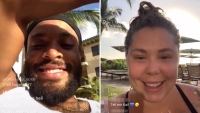 Kailyn Lowry Chris Lopez Share Flirty Instagram Live