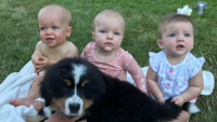 Jackson Roloff And Ember Roloff Snuggle With Pup Murphy — Pic