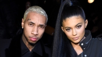 Kylie Jenner and Tyga in Soho Tyga Really Doesn't Want You to Ask Him About Kylie Jenner Anymore