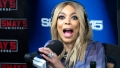 Wendy Williams Making a Shocked Face on her Radio Show