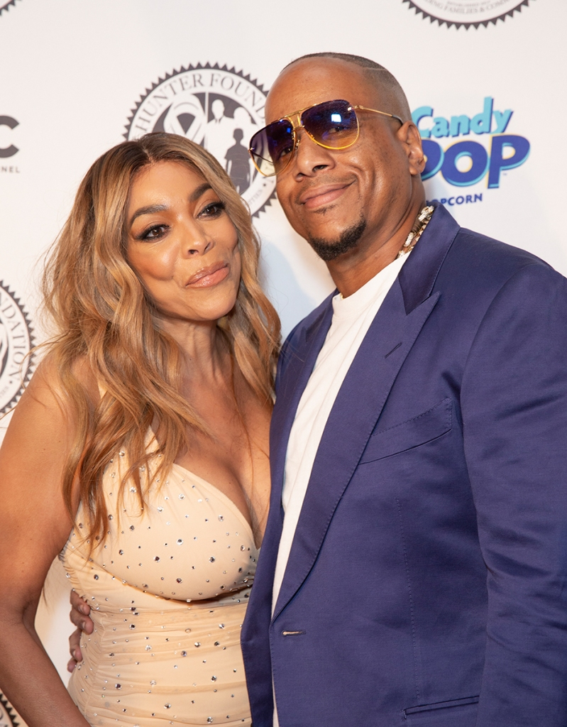 Wendy Williams and Kevin Hunter Smiling