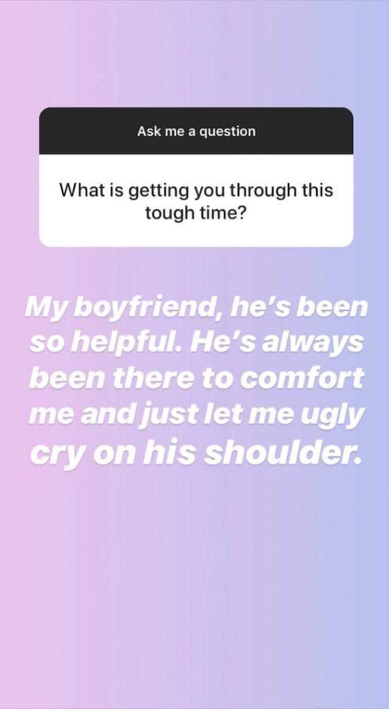 Bonnie Jo Chapman Leaning on Her Boyfriend After Mom Beth's Death