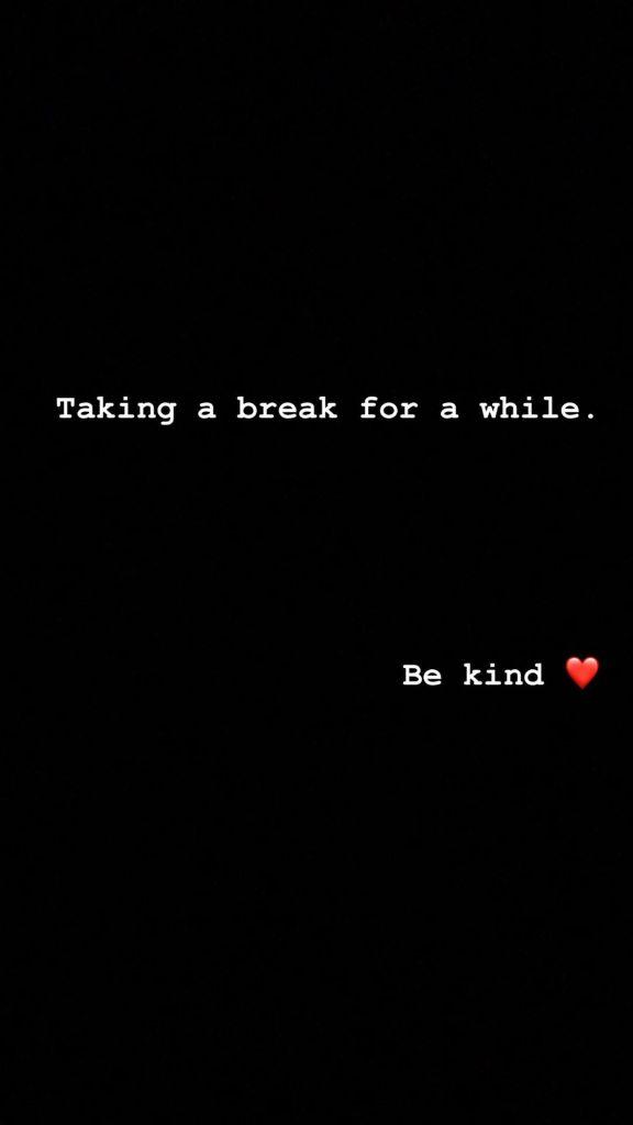 Demi Lovato Instagram Break