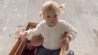ember roloff in a wagon