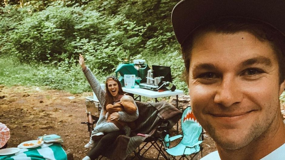 Jeremy and Audrey Roloff With Baby Ember Camping