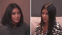 kim kardashian and kourtney kardashian fight over north west and penelople disick's birthday party theme on 'kuwtk'