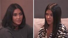 kim kardashian and kourtney kardashian fight over north west and penelople disick's birthday party theme on 'kuwtk'