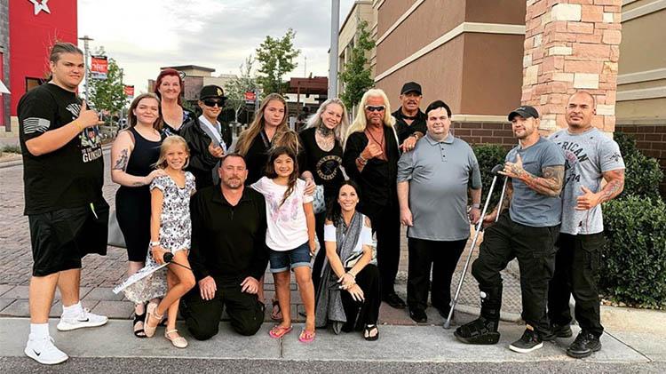 beth chapman family reunites colorado family photo