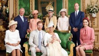 meghan markle prince harry son archie christening