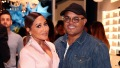 Adrienne Bailon Wearing a Pink Suit With Her Husband Israel