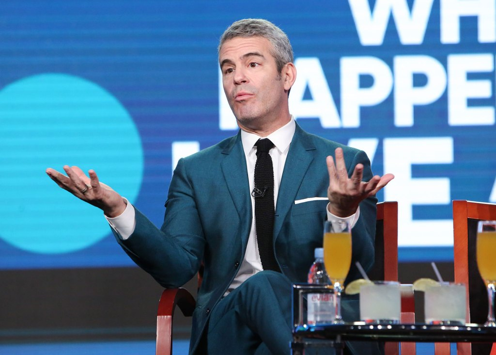 Andy Cohen Says 'a Few People' Have Been Banned from 'WWHL' Because They're 'Too Annoying to Come Back'