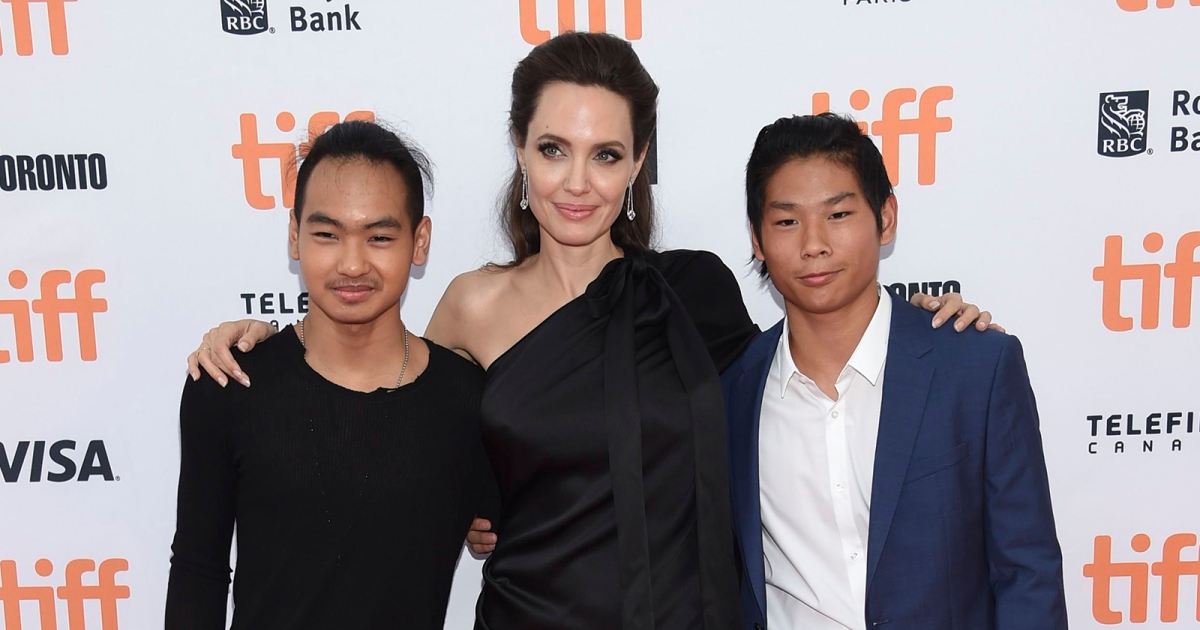 Angelina Jolie Says She 'Could Not Be Prouder' of Her Sons ...