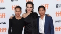 Angelina Jolie Proud Sons