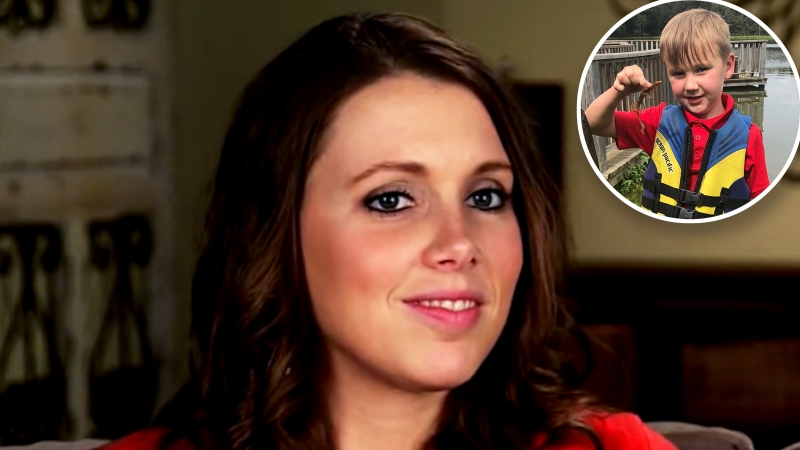 'Counting On' Star Anna Duggar Claps Back at Criticism of Her Son's Treatment of a 'Newt'