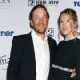 Bode Miller With His Wife Morgan Both Wearing Black Outfits