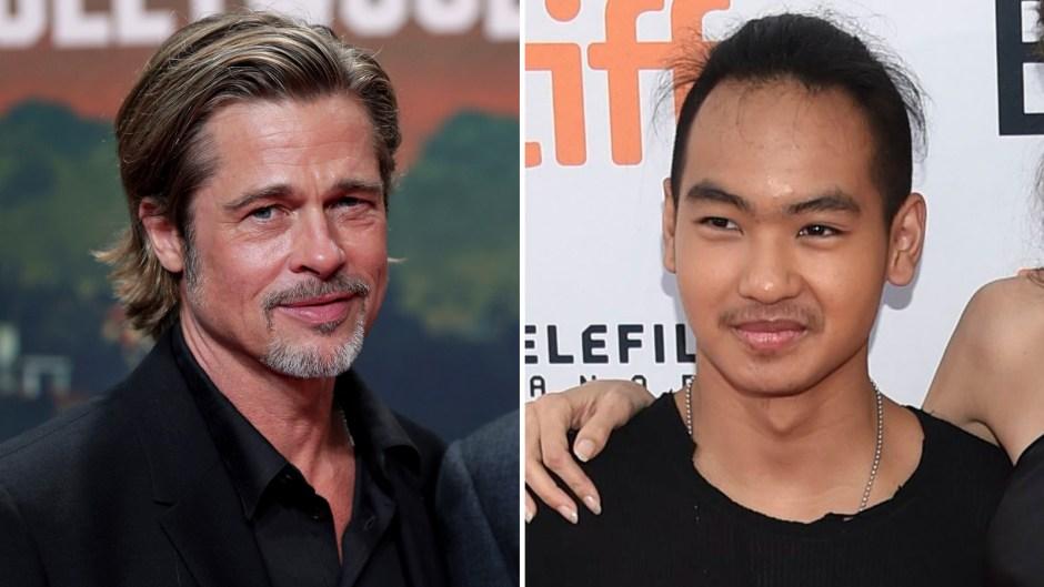 Brad Pitt Moving Maddox College