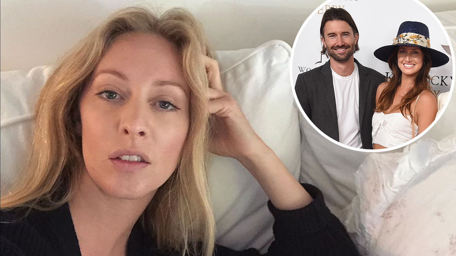 Brandon Jenner's Ex-Wife Leah Goes Paddleboarding After Baby