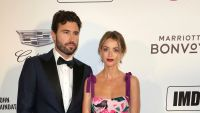 Brody Jenner Wearing a Tuxedo With Kaitlynn Carter