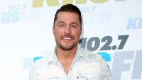 Chris Soules Smiles at Wango Tango Red Carpet