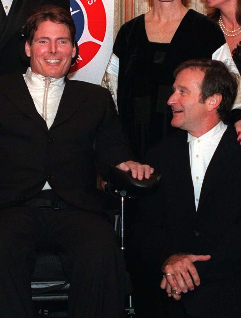 Christopher Reeve, Robin Williams