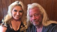 Duane Dog Chapman and Beth Chapman Smile for Photo