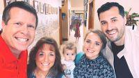 Jim Bob and Michelle Duggar Take Selfie with Vuolo Family