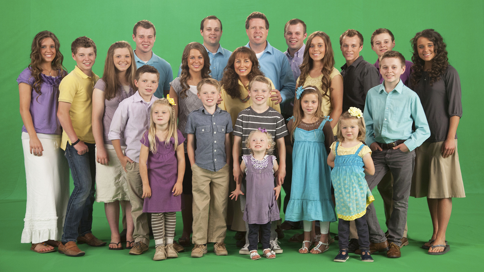 Duggars Then And Now How All 19 Kids Have Changed Over The