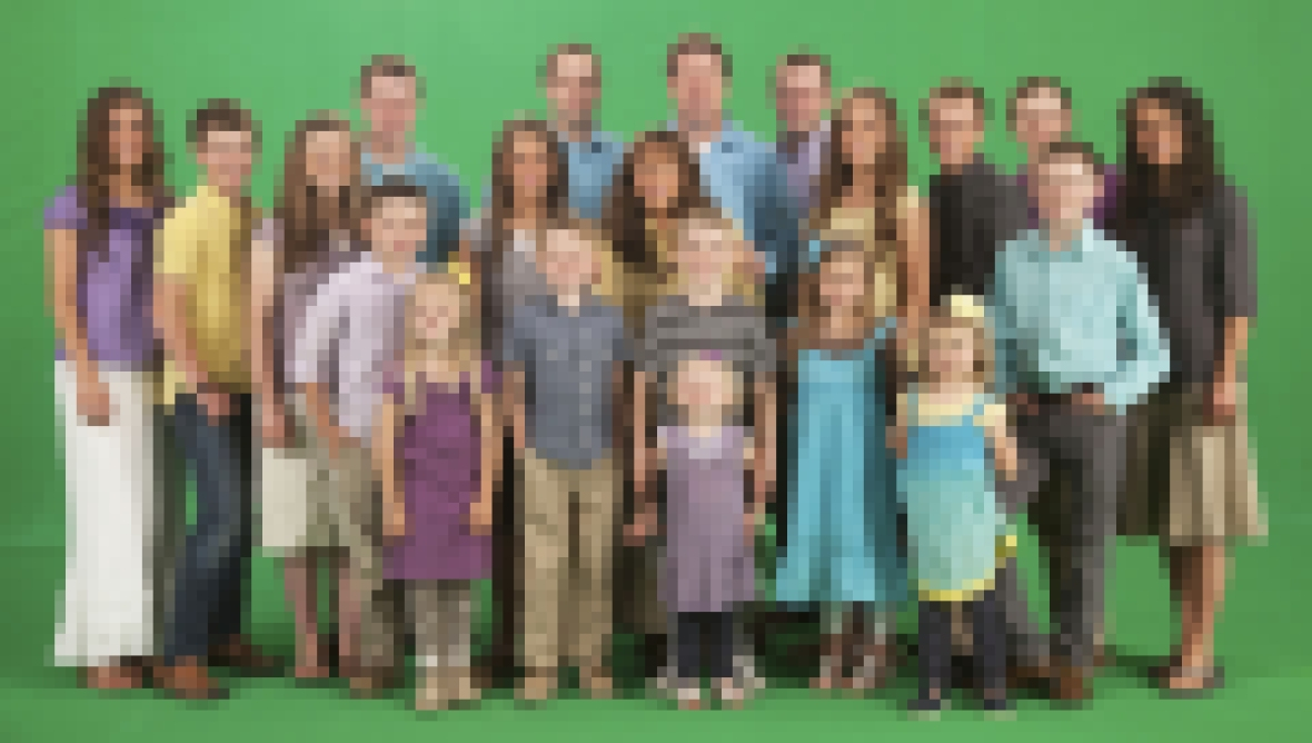 Duggar Family Then Now