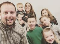 Josh and Anna Duggar With Their Kids