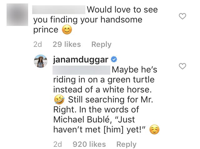 Jana Duggar Jokes About Finding Mr. Right
