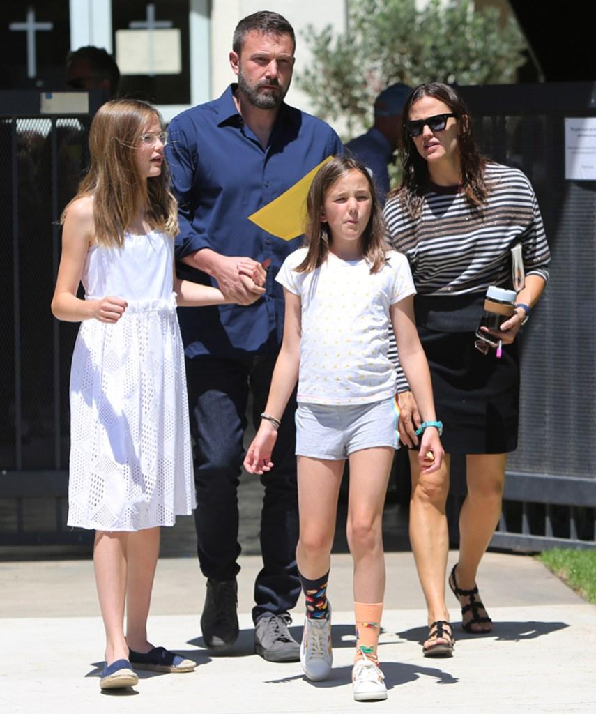 Jennifer Garner Partner John Miller Opposite Ben