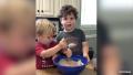 Jessa Duggar's Sons Spurgeon and Henry Make Pancakes — Watch