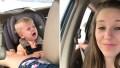 Side-by-Side Photos of Sam Dillard Crying in Car and Jill Duggar Smirking