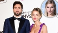 Brody Jenner In Suit With Kaitlynn Carter In Purple Dress with Josie Canseco Inset