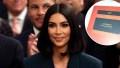 Kim Kardashian Studying Contracts