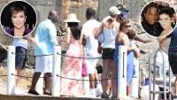 Kylie Jenner Kris Jenner Travis Scott Italy