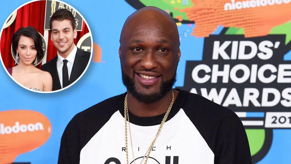 Lamar Odom Reach Out Kim Rob Kardashian DWTS Advice