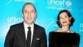 Matt Lauer Annette Roque Friendly Hamptons Classic