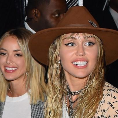 Miley Cyrus Kaitlynn Carter Hold Hands Manhattan