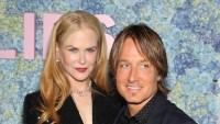 Nicole Kidman and Keith Urban Posing Side by Side