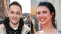 Pete Davidson Margaret Qualley Venice Film Festival