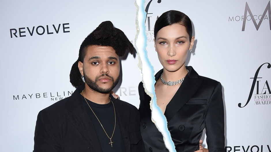 bella hadid the Weeknd Split
