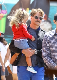 Bradley Cooper Enjoys a Sweet Daddy-Daughter Date With Lea at Disneyland — See Photos!