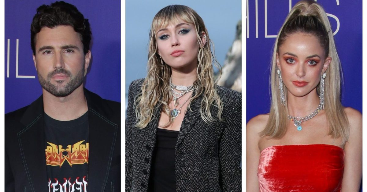 Brody Jenner Comments on Kaitlynn Carter's Fling With Miley Cyrus
