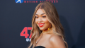 jordyn woods at the '47 Meters Down- Uncaged' film premiere