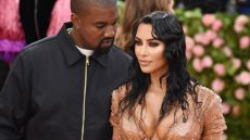 Kim Kardashian Helps Tease Kanye West Album