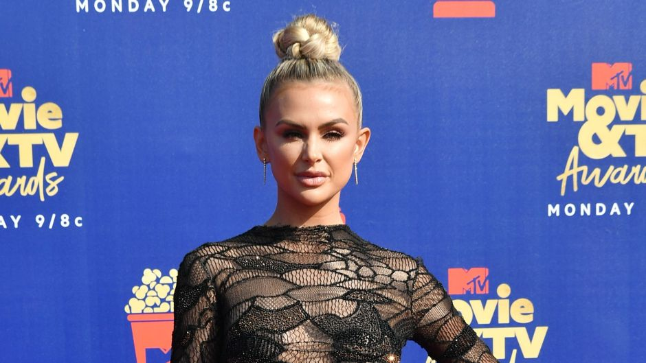 Vanderpump Rules Star Lala Kent Red Carpet Sheer Lace Bodysuit